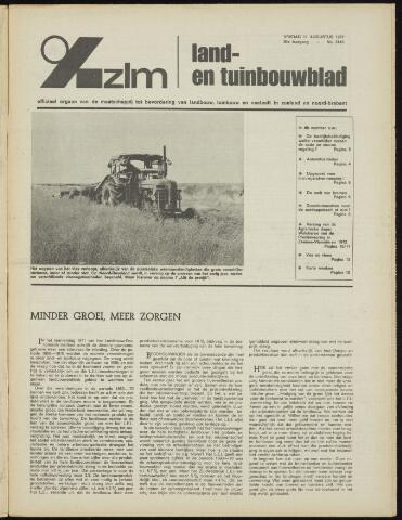 Zeeuwsch landbouwblad ... ZLM land- en tuinbouwblad 1972-08-11