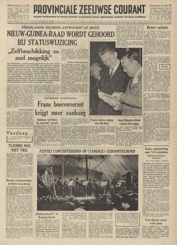 Provinciale Zeeuwse Courant 1961-06-22