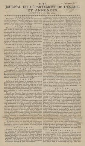 Middelburgsche Courant 1811-05-25
