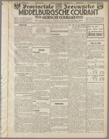 Middelburgsche Courant 1934-11-09