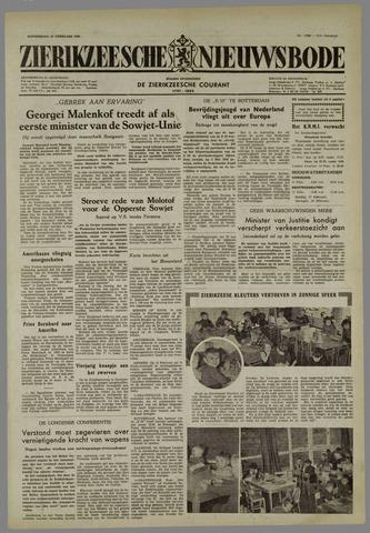 Zierikzeesche Nieuwsbode 1955-02-10