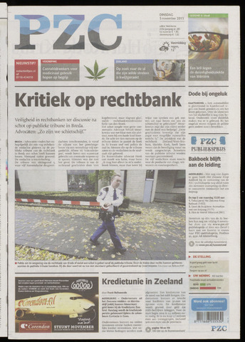 Provinciale Zeeuwse Courant 2013-11-05