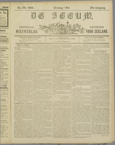 De Zeeuw. Christelijk-historisch nieuwsblad voor Zeeland 1906-05-01