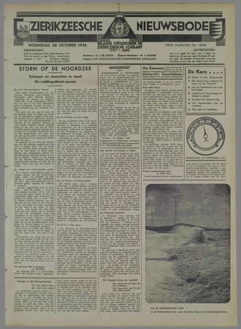 Zierikzeesche Nieuwsbode 1936-10-28