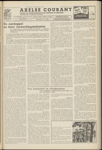 Axelsche Courant 1958-02-22