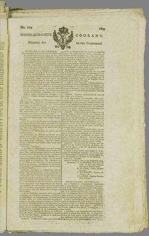 Middelburgsche Courant 1809-08-22