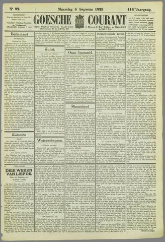 Goessche Courant 1929-08-05