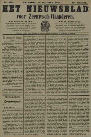 Nieuwsblad voor Zeeuwsch-Vlaanderen 1900-10-20