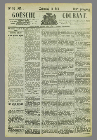 Goessche Courant 1917-07-14