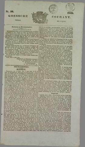 Goessche Courant 1839-07-26