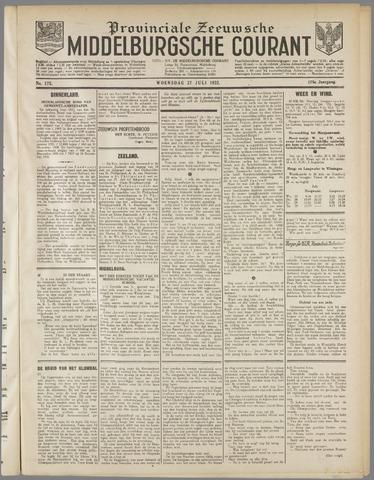 Middelburgsche Courant 1932-07-27