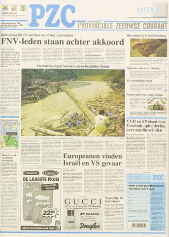 Provinciale Zeeuwse Courant 2003-11-04