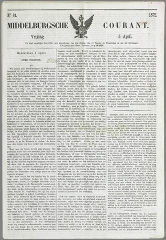 Middelburgsche Courant 1872-04-05