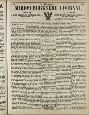 Middelburgsche Courant 1903-02-02