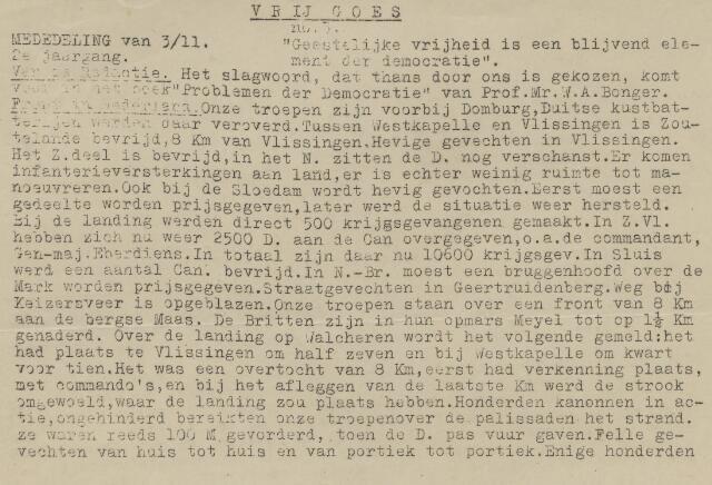 Vrij Goes 1944-11-03