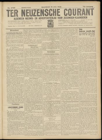Ter Neuzensche Courant. Algemeen Nieuws- en Advertentieblad voor Zeeuwsch-Vlaanderen / Neuzensche Courant ... (idem) / (Algemeen) nieuws en advertentieblad voor Zeeuwsch-Vlaanderen 1938-07-18