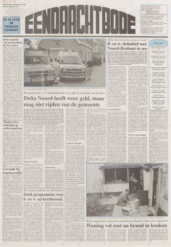Eendrachtbode (1945-heden)/Mededeelingenblad voor het eiland Tholen (1944/45) 1999-09-16