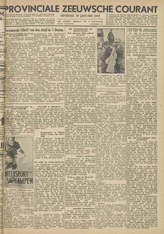 Provinciale Zeeuwse Courant 1944-01-18
