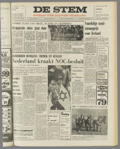 de Stem 1972-09-07