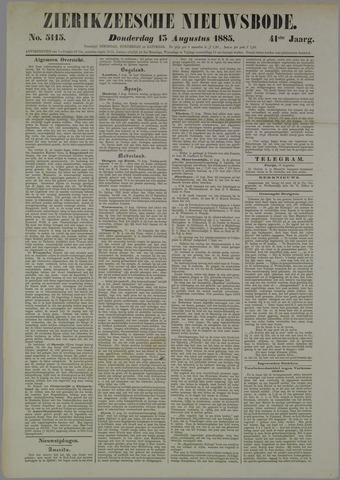 Zierikzeesche Nieuwsbode 1885-08-13