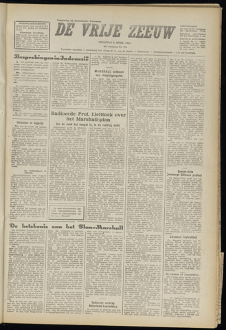 de Vrije Zeeuw 1948-04-06