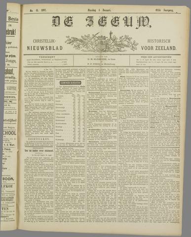 De Zeeuw. Christelijk-historisch nieuwsblad voor Zeeland 1897-01-05