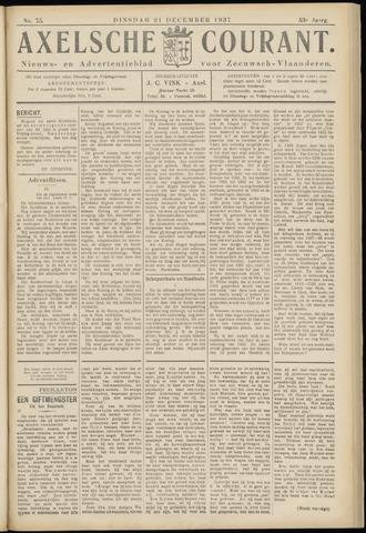 Axelsche Courant 1937-12-21