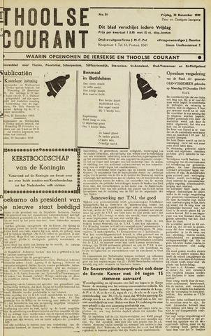 Ierseksche en Thoolsche Courant 1949-12-23