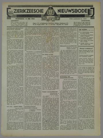 Zierikzeesche Nieuwsbode 1941-05-14