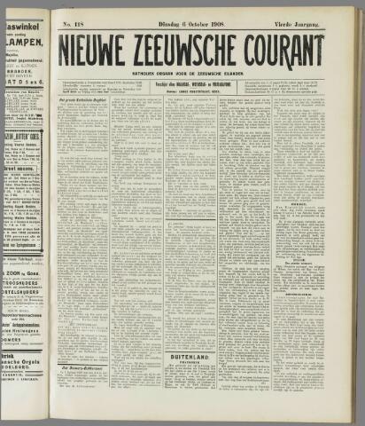 Nieuwe Zeeuwsche Courant 1908-10-06