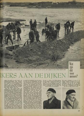 Watersnood documentatie 1953 - tijdschriften 1953-04-03