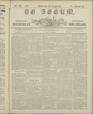 De Zeeuw. Christelijk-historisch nieuwsblad voor Zeeland 1912-08-10