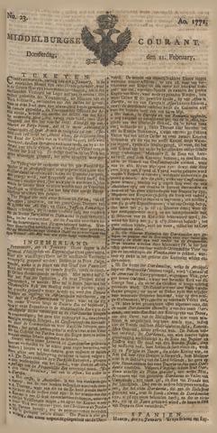 Middelburgsche Courant 1771-02-21