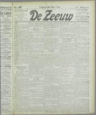 De Zeeuw. Christelijk-historisch nieuwsblad voor Zeeland 1919-05-23