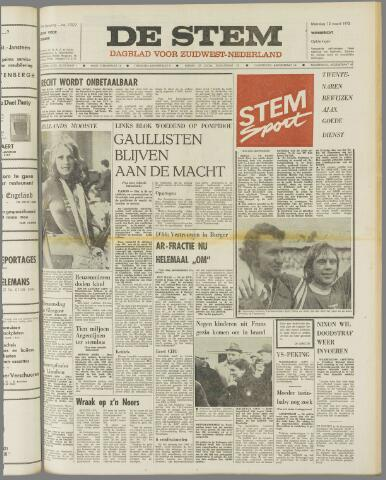 de Stem 1973-03-12