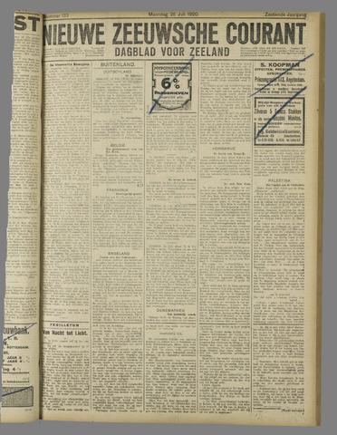 Nieuwe Zeeuwsche Courant 1920-07-26