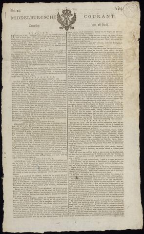 Middelburgsche Courant 1814-06-18