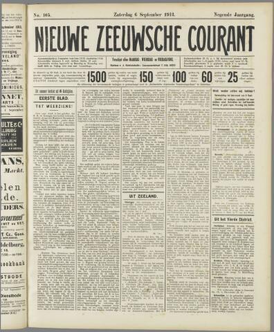 Nieuwe Zeeuwsche Courant 1913-09-06