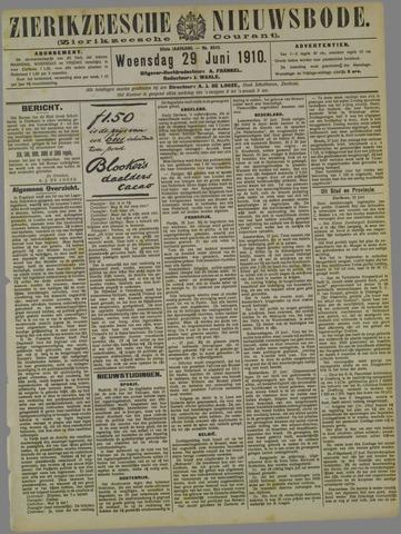 Zierikzeesche Nieuwsbode 1910-06-29