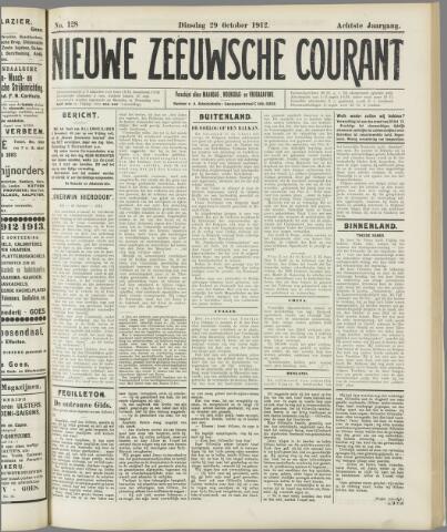 Nieuwe Zeeuwsche Courant 1912-10-29