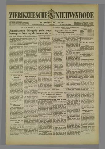 Zierikzeesche Nieuwsbode 1952-10-25