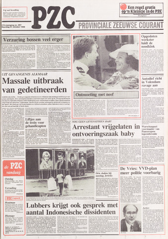Provinciale Zeeuwse Courant 1988-10-31