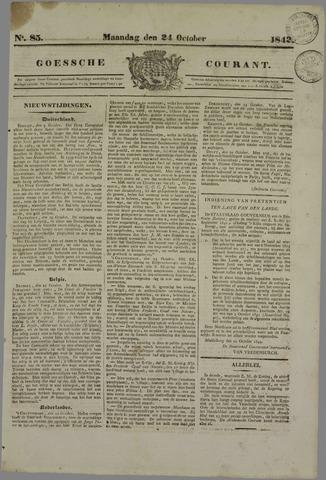 Goessche Courant 1842-10-24