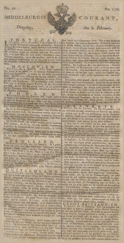 Middelburgsche Courant 1776-02-06
