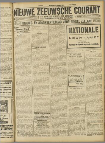 Nieuwe Zeeuwsche Courant 1928-02-25