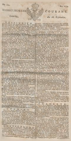 Middelburgsche Courant 1779-09-18