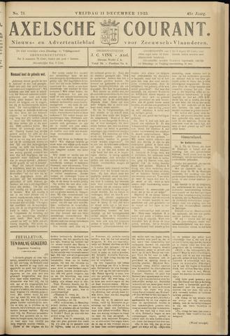 Axelsche Courant 1925-12-11