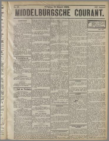 Middelburgsche Courant 1922-03-10