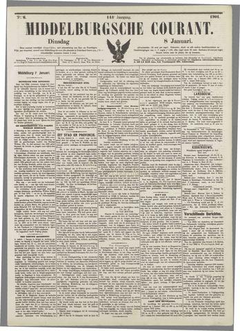 Middelburgsche Courant 1901-01-08