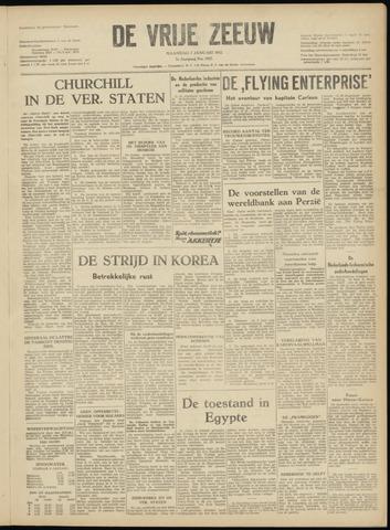 de Vrije Zeeuw 1952-01-07
